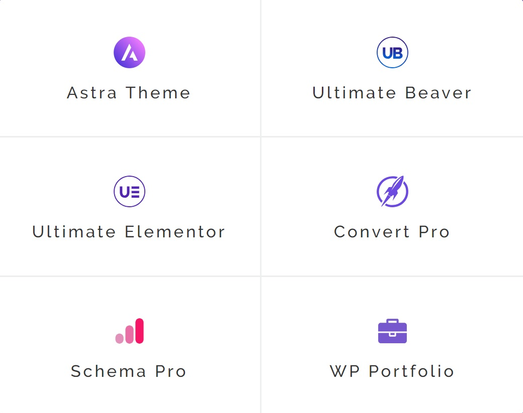combo AGENCY BUNDLE Schema